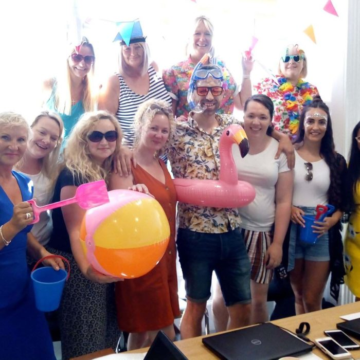 Heath House Conference Centre, Uttoxeter, Near Derby: Themed Team Meetings - At the beach