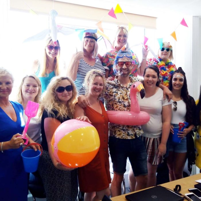 Heath House Conference Centre, Uttoxeter, Near Burton: Themed Team Meetings - At the beach