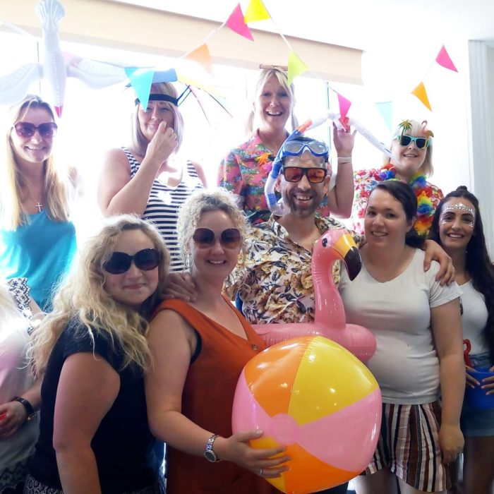 Heath House Conference Centre, Uttoxeter, Stafford: Themed Team Meetings - At the beach
