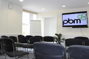 Heath House Conference Centre, Uttoxeter, Staffordshire, Bromley meeting room – lecture style