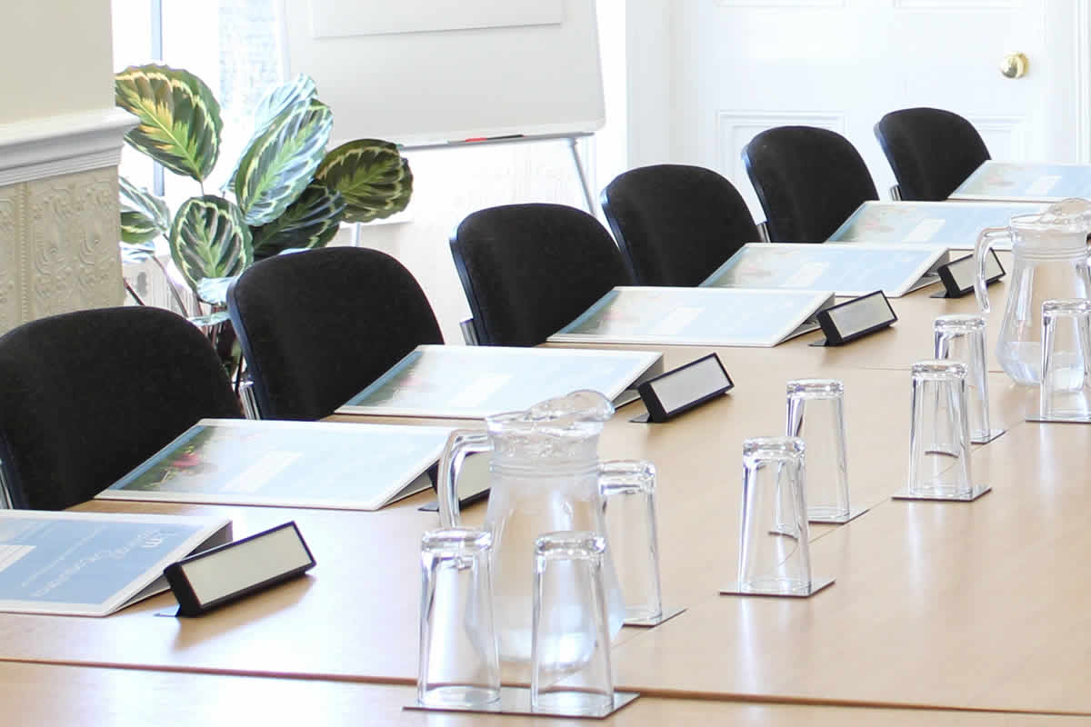 Meeting rooms at Heath House Conference Centre, Uttoxeter, Staffordshire