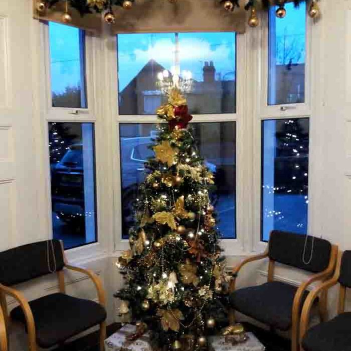 Heath House Conference Centre, Uttoxeter, Staffordshire, Christmas