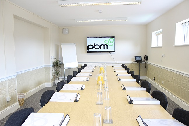 Heath House Conference Centre, Uttoxeter, Staffordshire, Newbrough meeting room