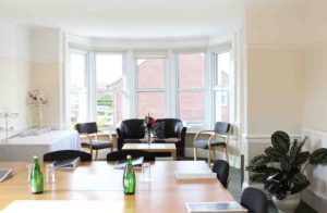 Heath House Conference Centre, Uttoxeter, Staffordshire, Butterton Room, Coffee Area