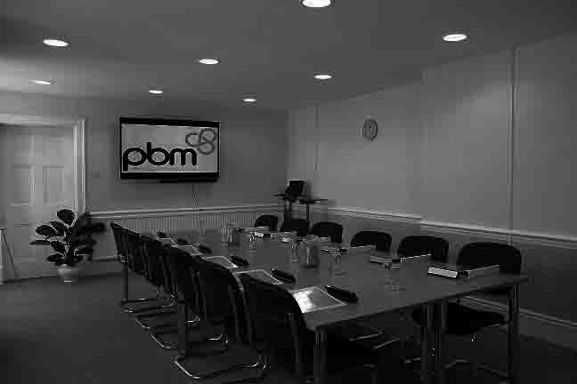 Bromley Boadroom - Heath House Conference Centre, Uttoxeter, Staffordshire