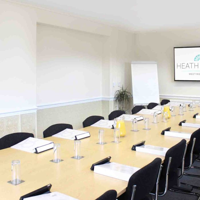 Newbrough training room - Heath House Conference Centre, Uttoxeter, Staffordshire