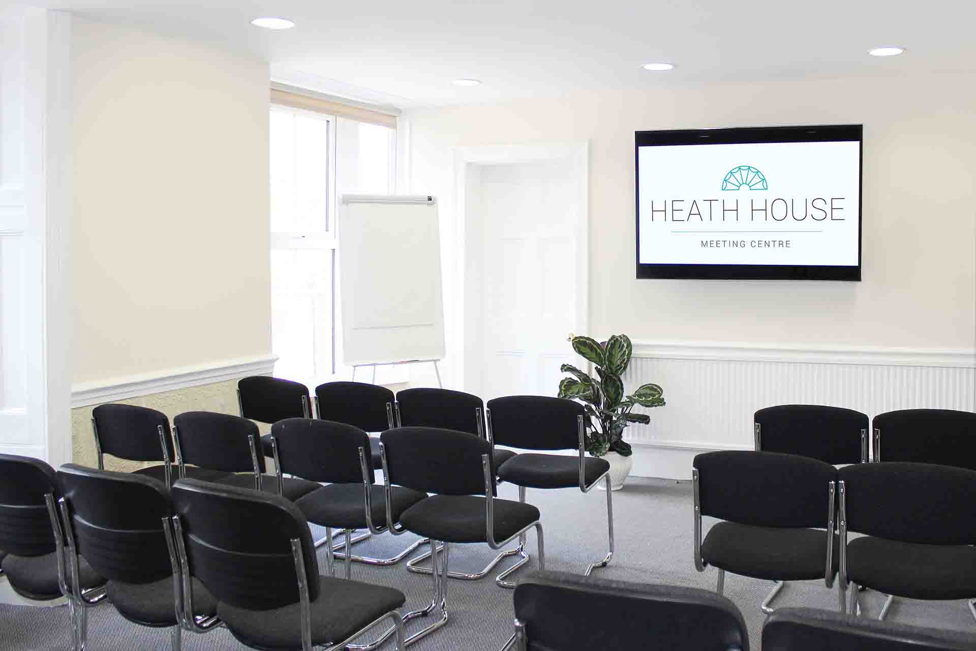 Bromley meeting room - Theatre style - Heath House Conference Centre, Uttoxeter, Staffordshire