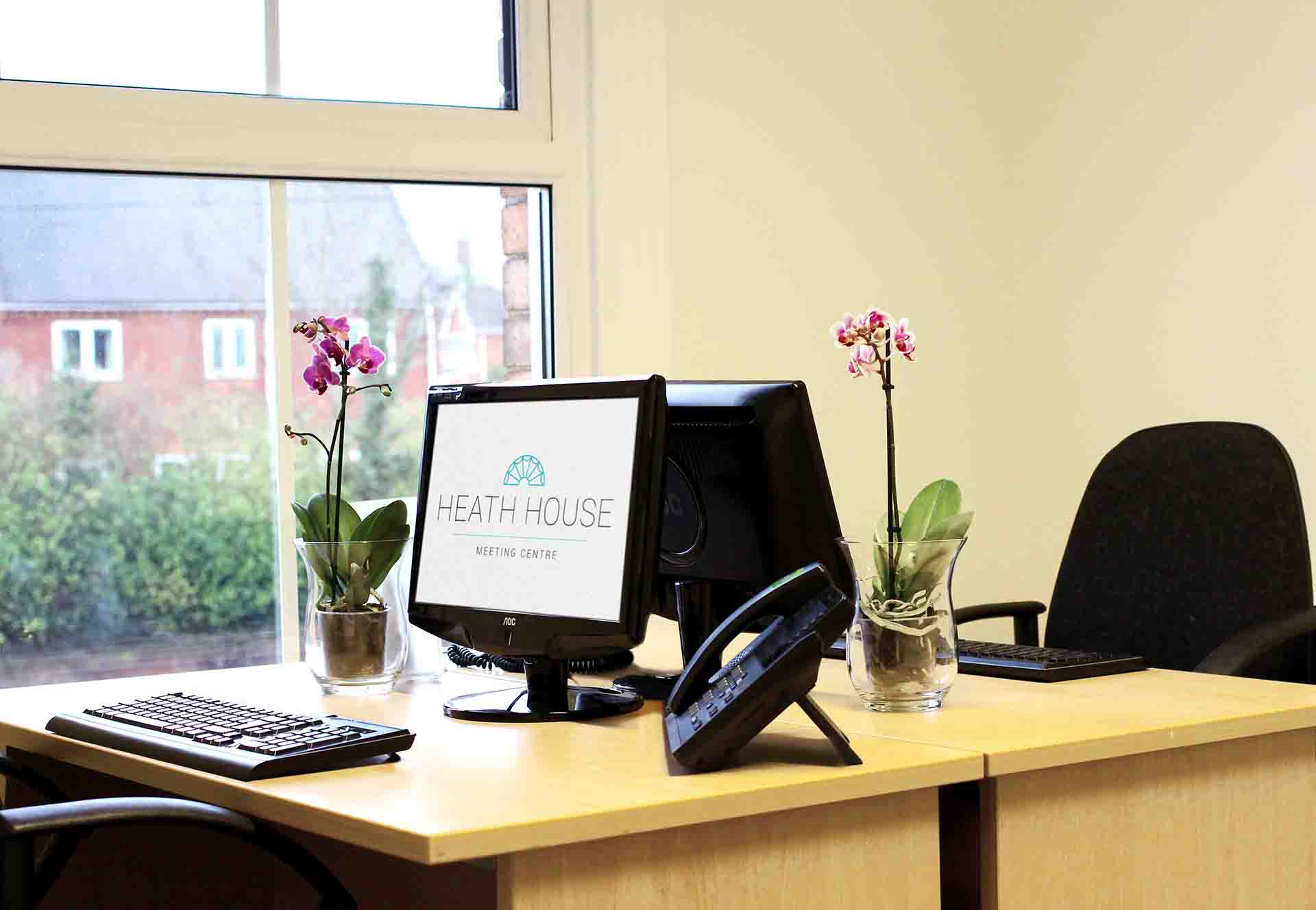 Serviced office accommodation - Heath House Conference Centre, Uttoxeter, Staffordshire