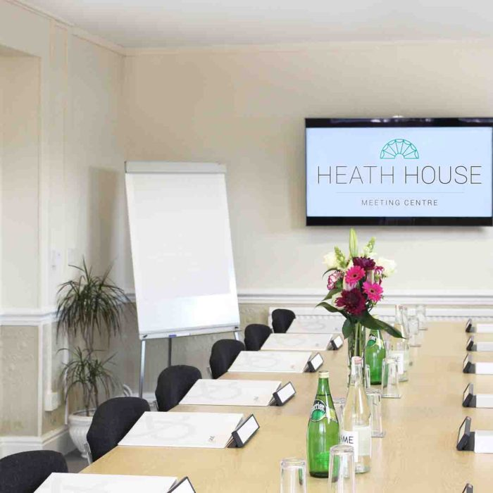 Newbrough training room - Heath House Conference Centre, Uttoxeter - Training venue - Staffordshire