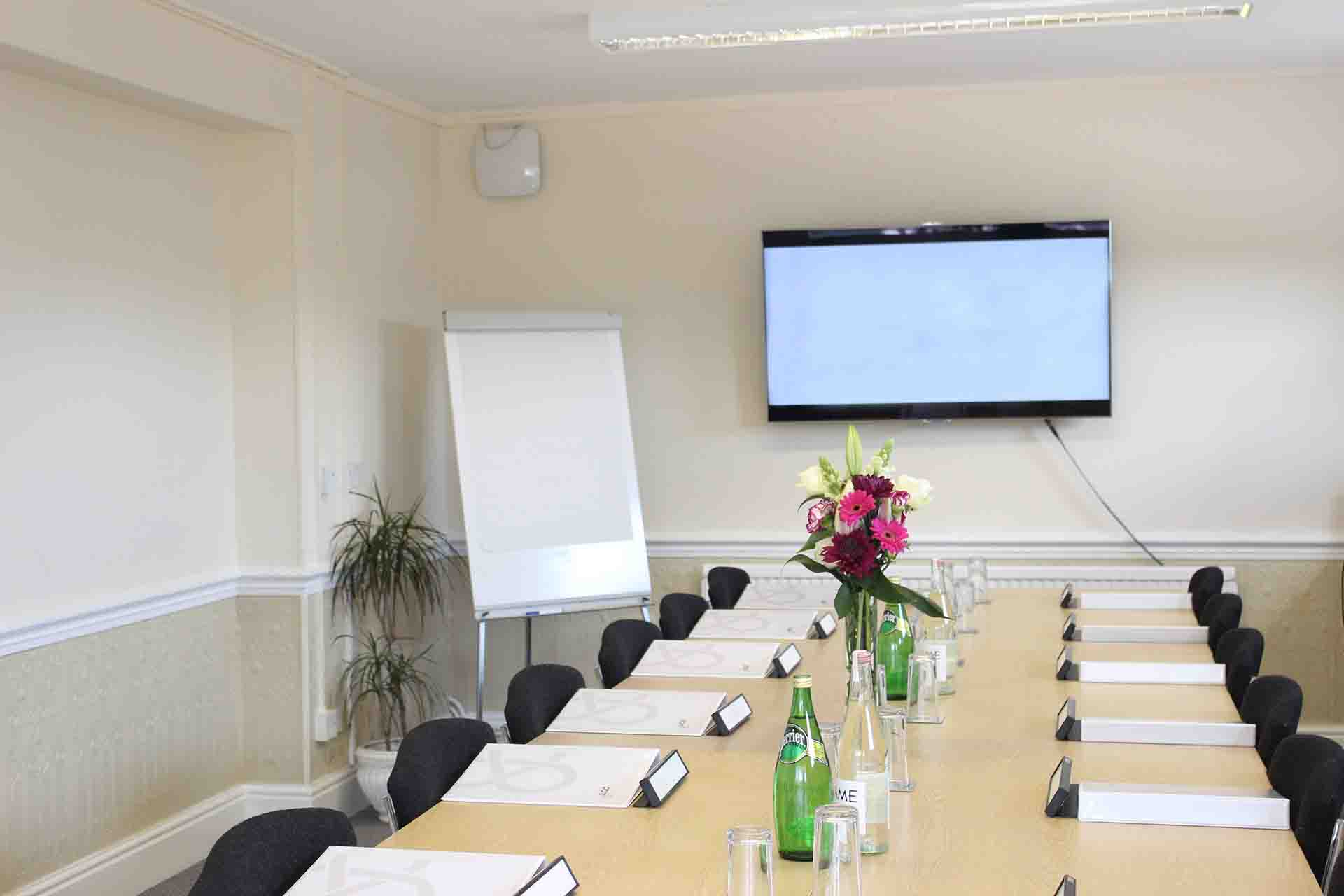 Meeting room - Heath House Conference Centre, UttoxeterStaffordshire, Newbrough meeting room