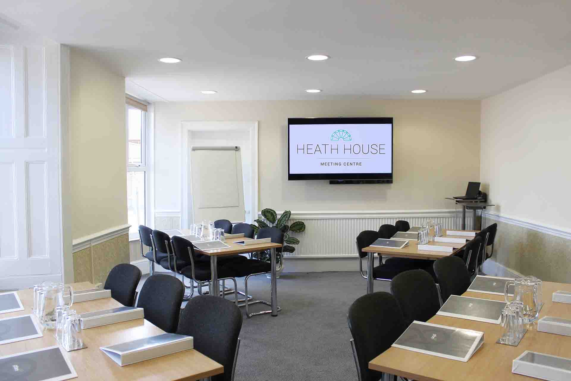 Bromley meeting room - classroom layout for a training event Uttoxeter