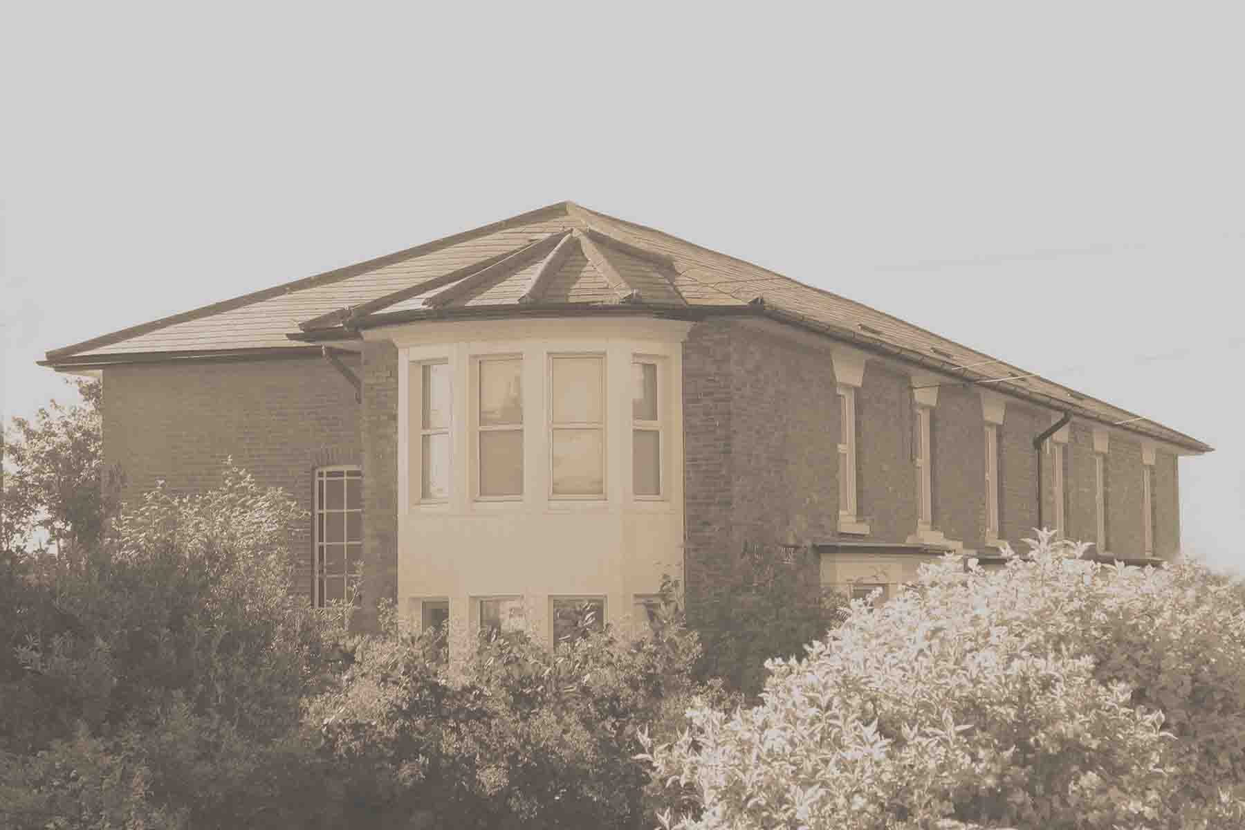 Heath House Conference Centre, Uttoxeter - Staffordshire, Sepia photograph