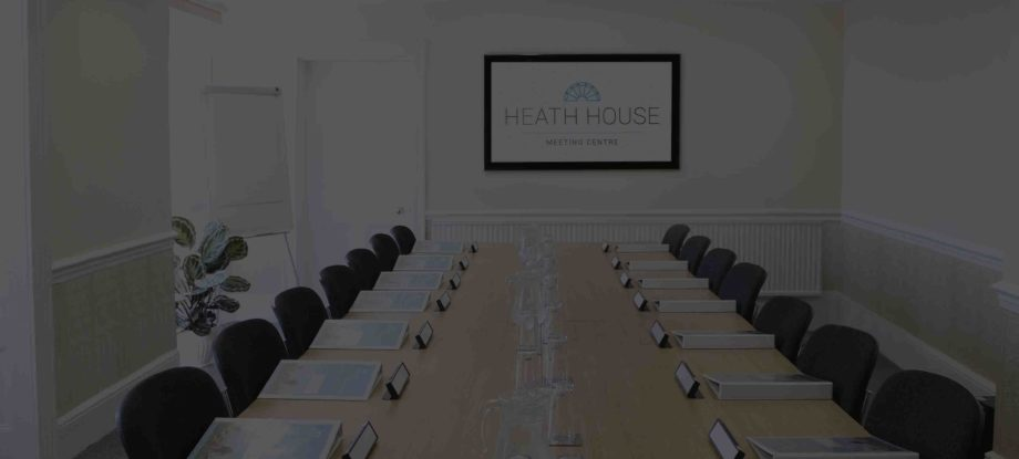 Bromley Meeting Room – Heath House Conference Centre, Uttoxeter, Staffordshire