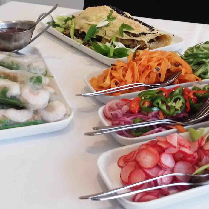 Oriental buffet - Heath House Conference Centre, Uttoxeter, Staffordshire