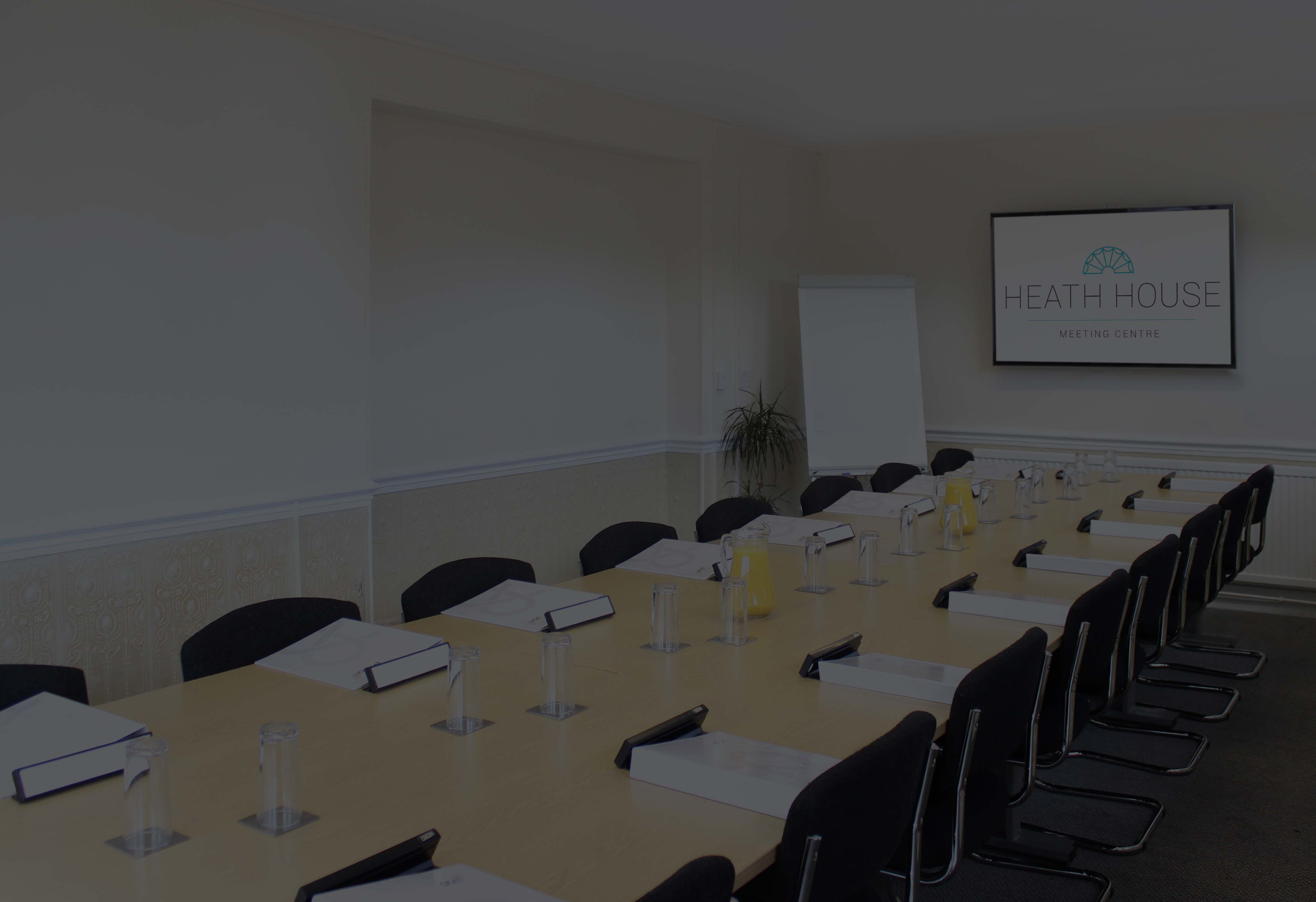 Newbrough meeting room - Heath House Conference Centre, Uttoxeter, Staffordshire