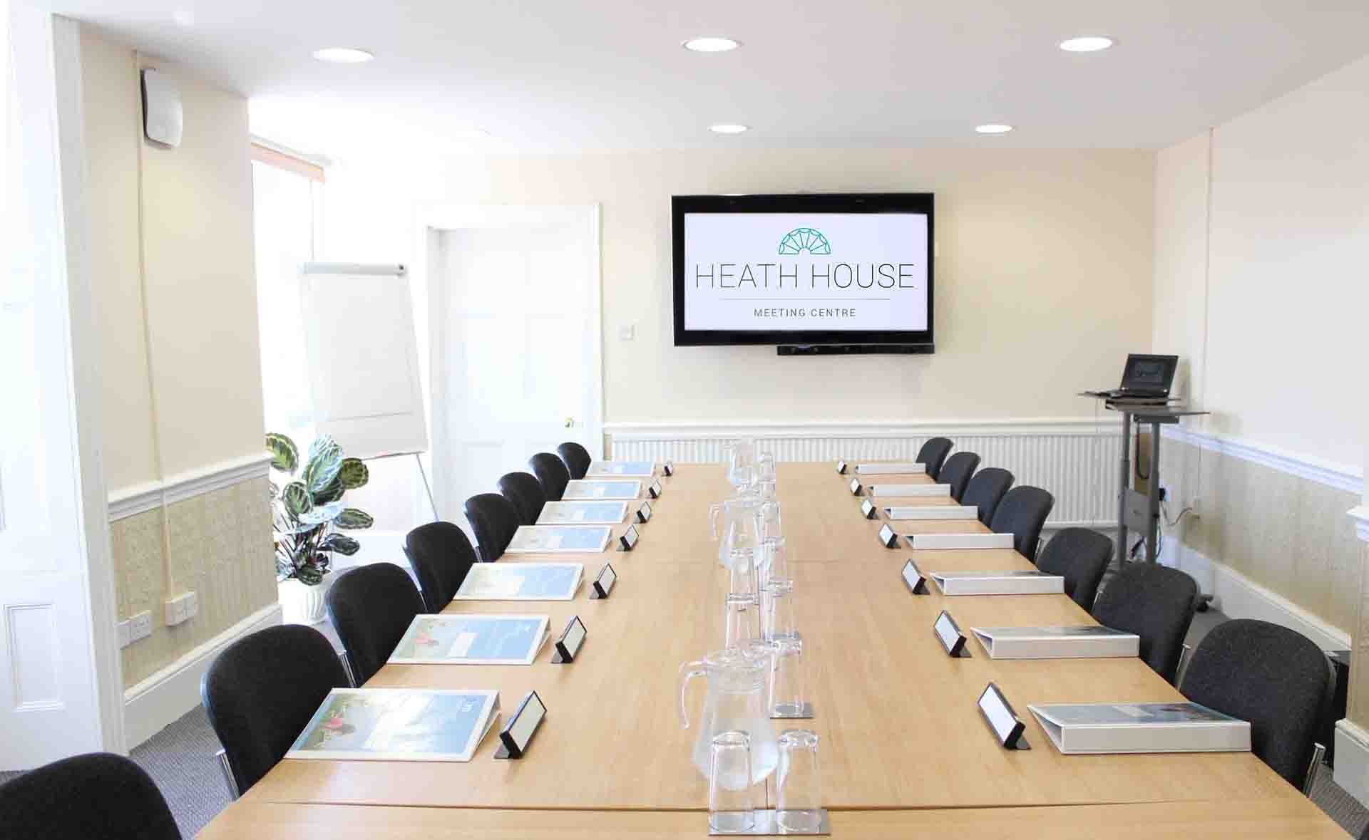 Bromley Meeting Room – Heath House Conference Centre, Uttoxeter, Staffordshire near JCB
