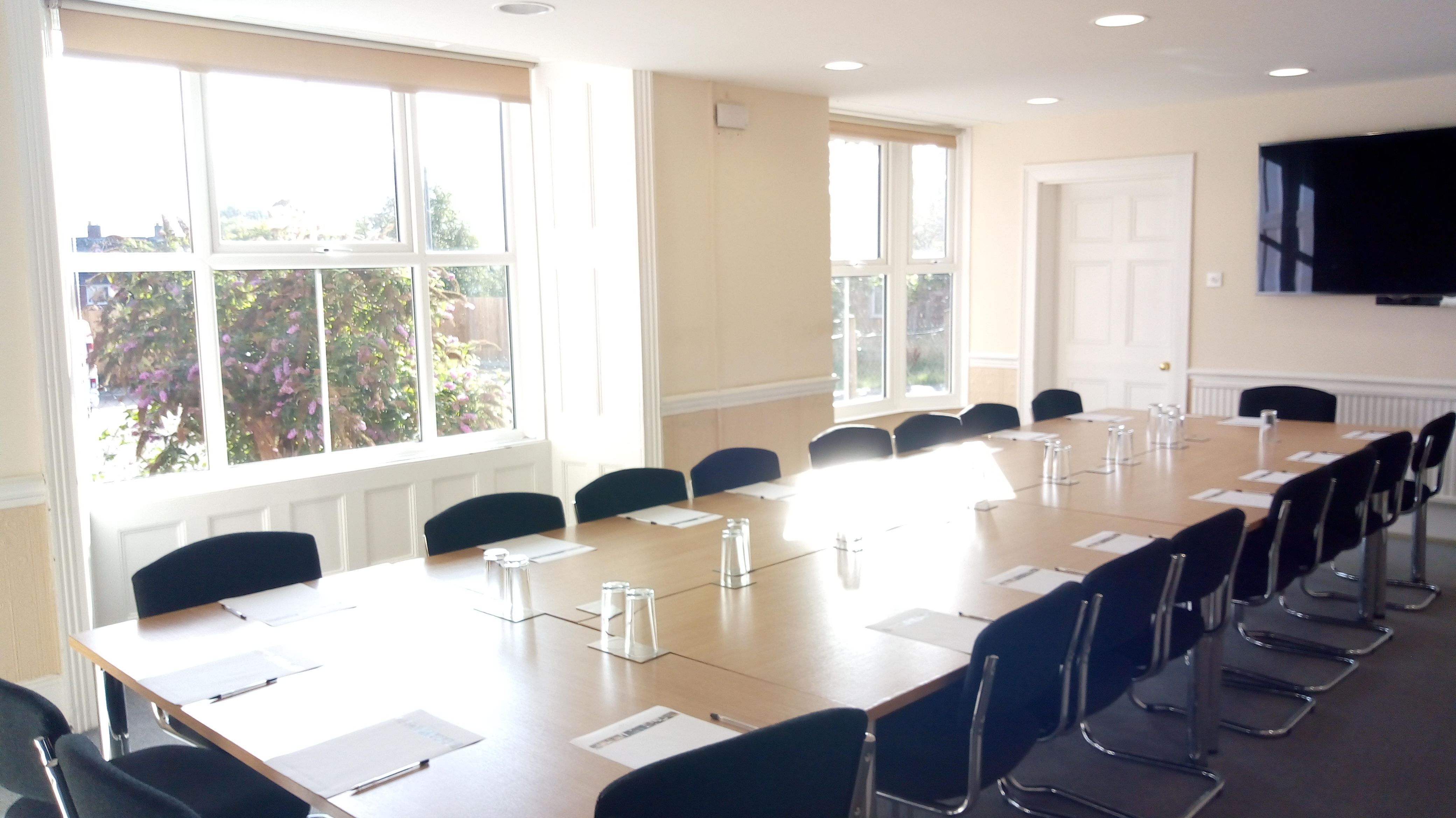 Heath House Conference Centre, Uttoxeter, Staffordshire - Bromley meeting room