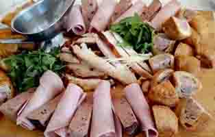 Heath House Conference Centre and Business Hub , Uttoxeter, Staffordshire – Meat Platter