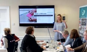 Uttoxeter Business Network (UBN) Breakfast Network Meeting - 1 minute