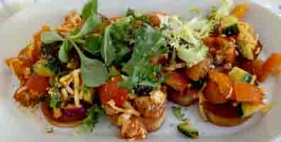 Heath House Conference Centre and Business Hub , Uttoxeter, Staffordshire – Salad menu