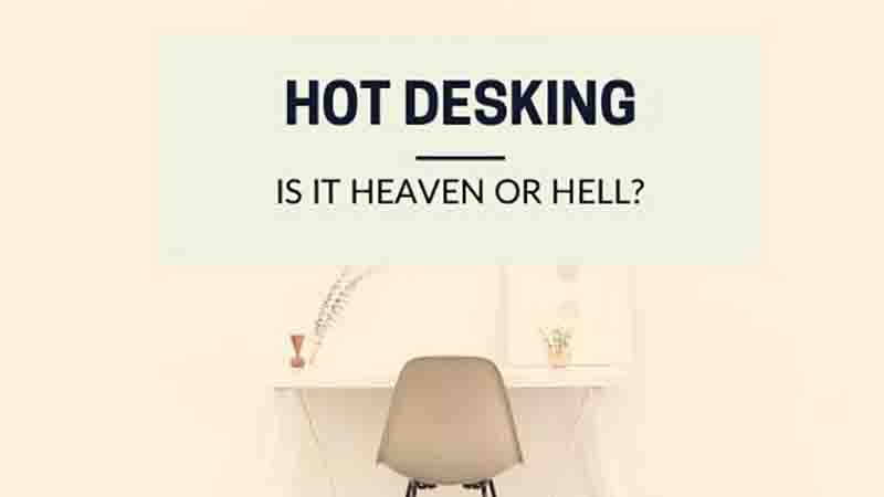 Hot desking - advantages and disadvantages
