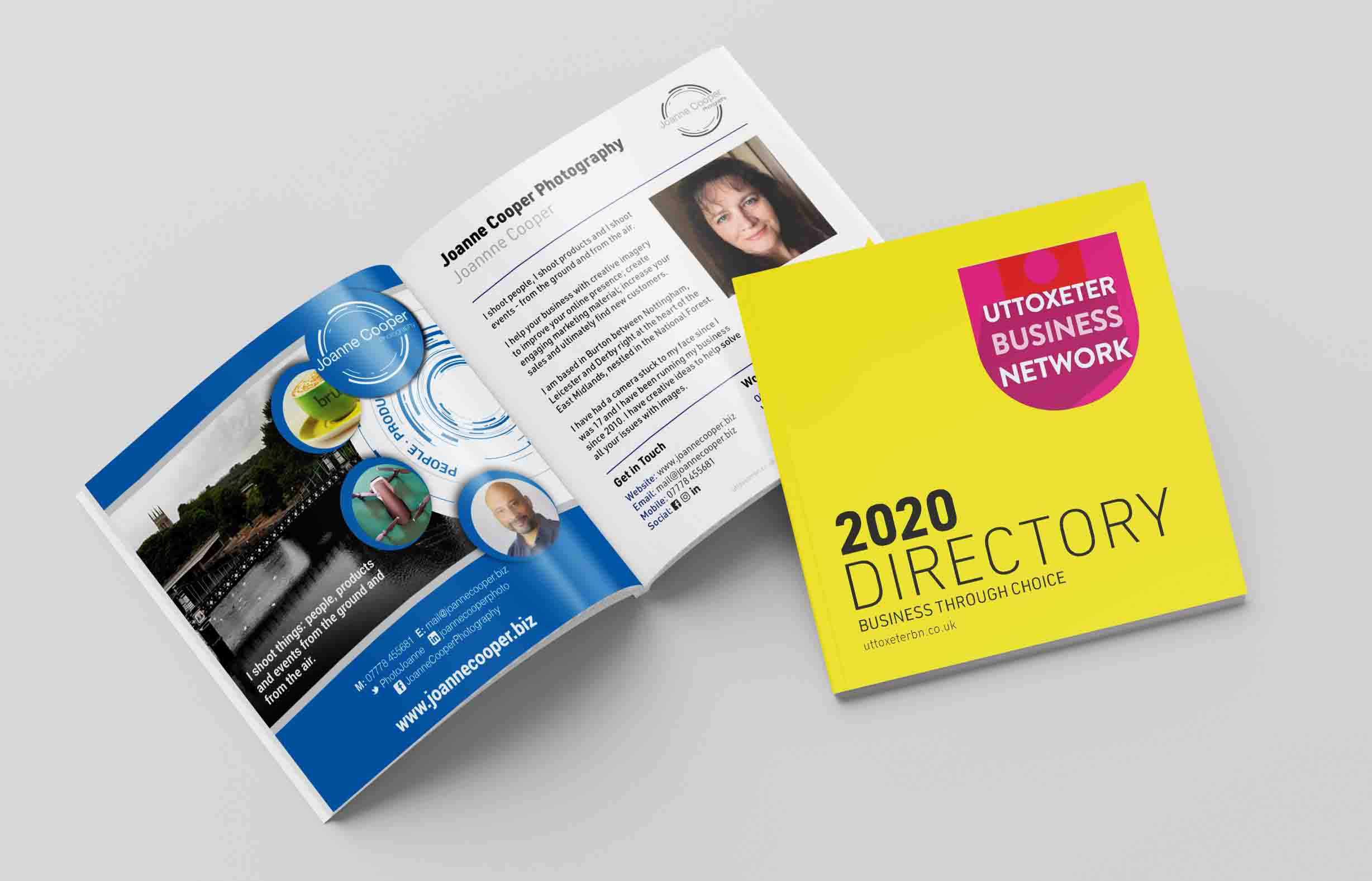 Uttoxeter Business Network Directory 2020 - profile page