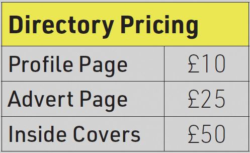 Uttoxeter Business Network directory prices