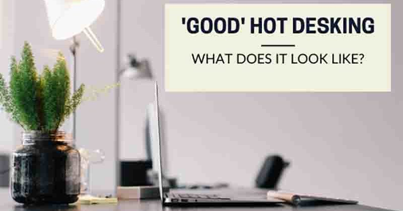 What are the advantages of hot desking - Heath House Conference Centre Staffordshire