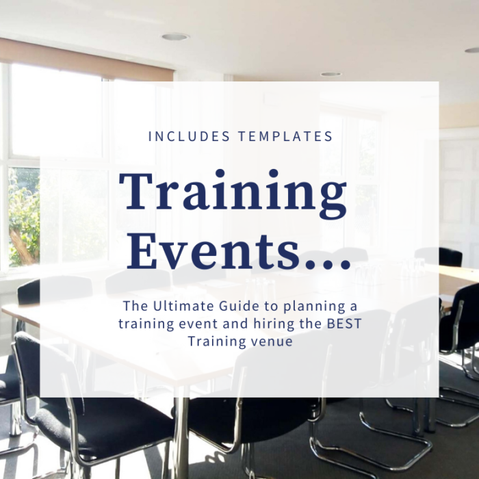 Training event guide