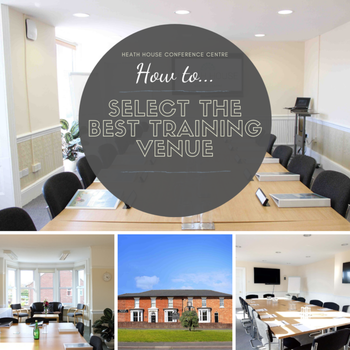 Best training venues - Heath House Conference Centre Uttoxeter