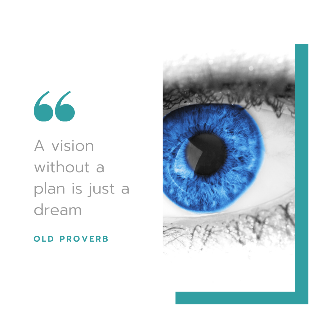 quote about having a clear vision