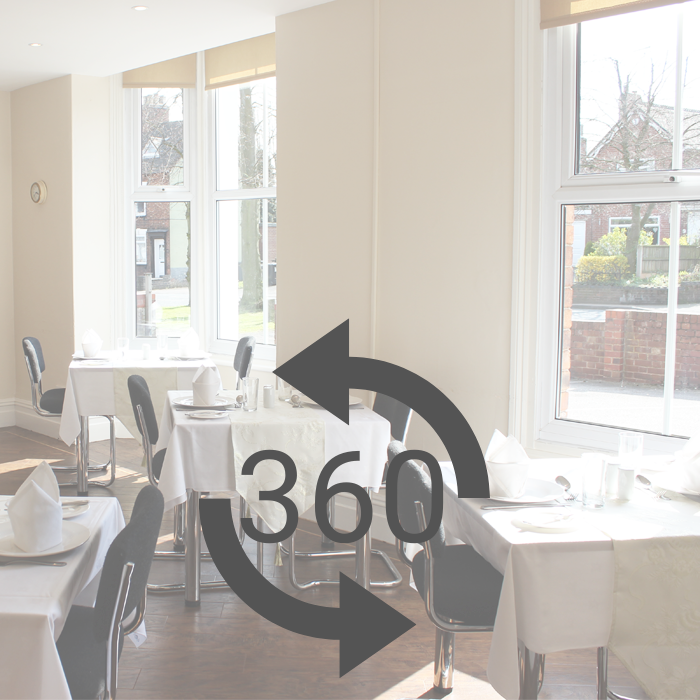360 tour of dining room at Heath House Uttoxeter