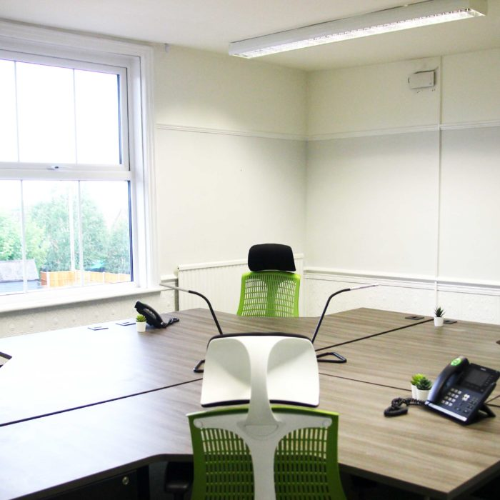 Serviced Office, Heath House Uttoxeter - Four person space COVID secure