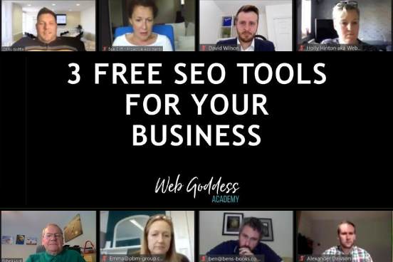 3 free SEO tools - Uttoxeter Business Network presentation