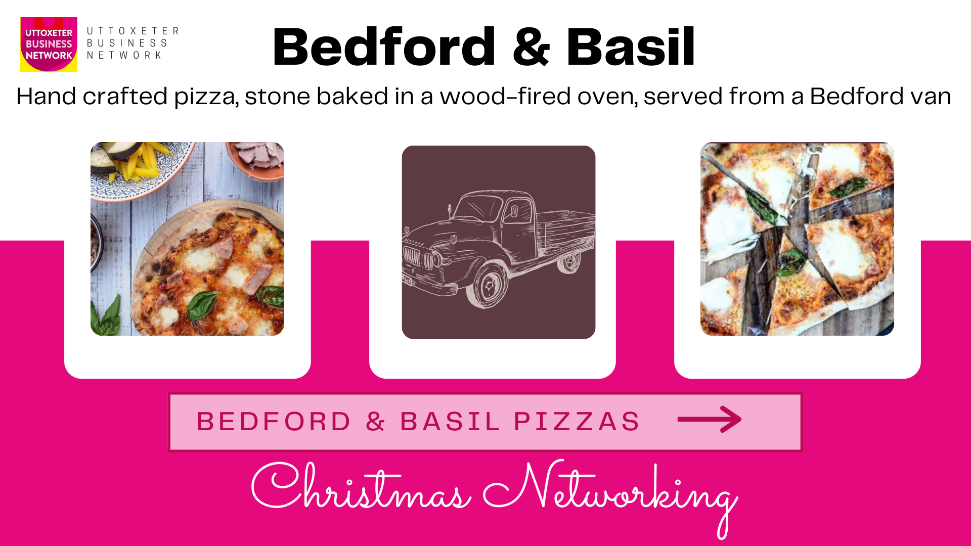 Bedford and Basil pizzas