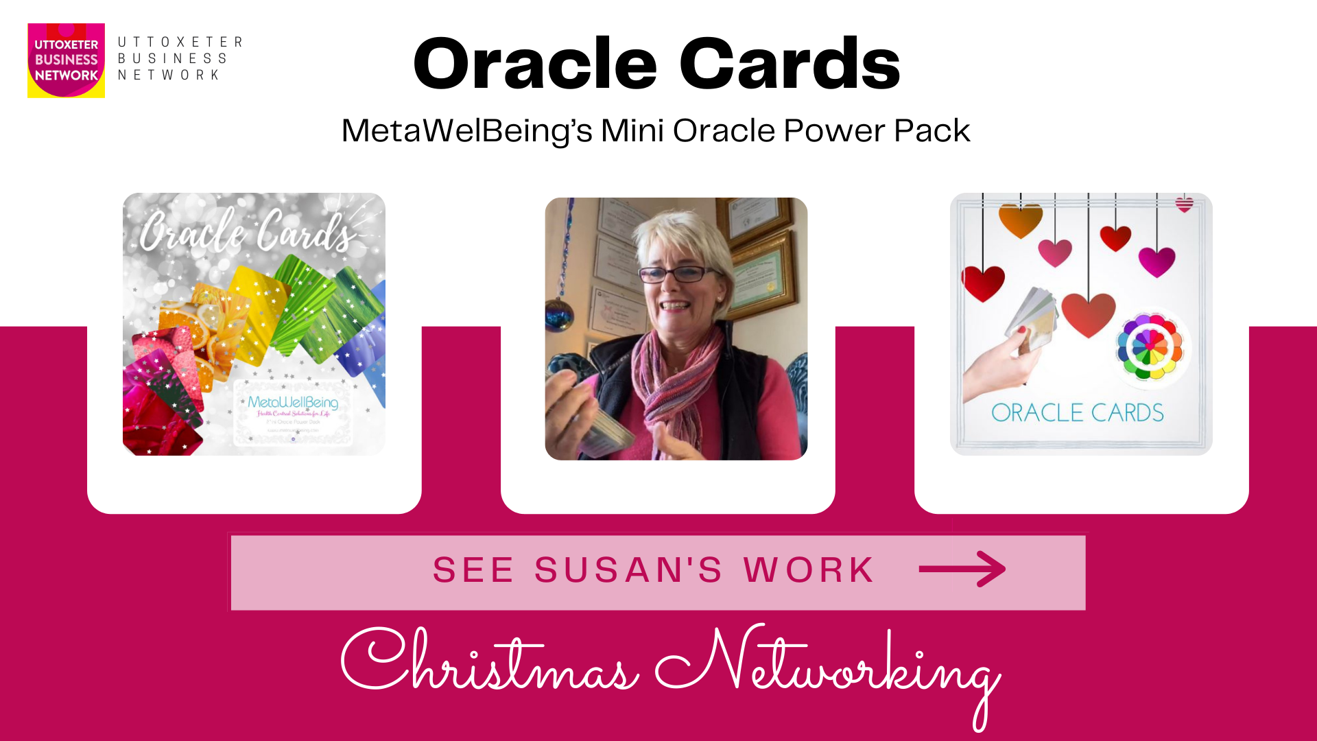Susans Oracle Cards - christmas networking
