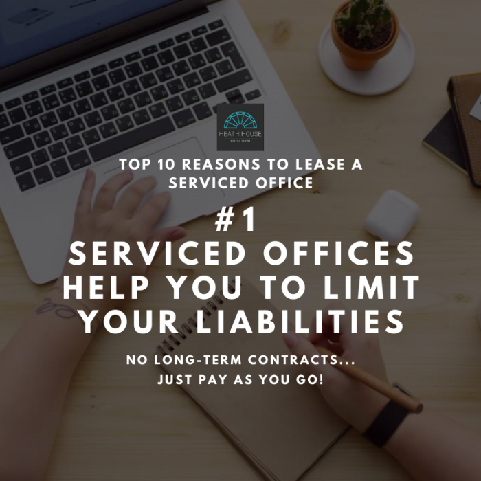 10 reasons to rent a serviced office - reason 1