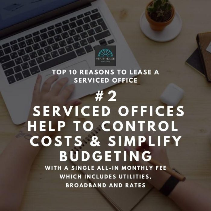 10 reasons to rent a serviced office - reason 2