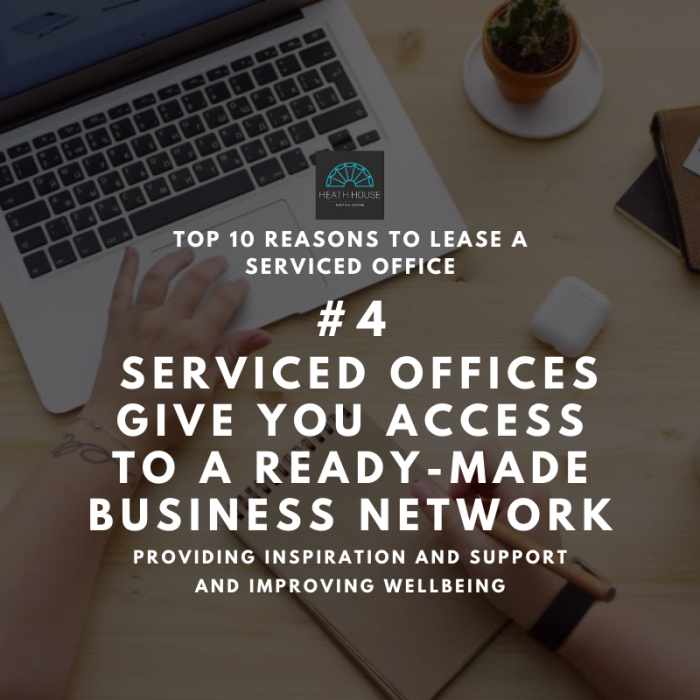 10 reasons to rent a serviced office - reason 4