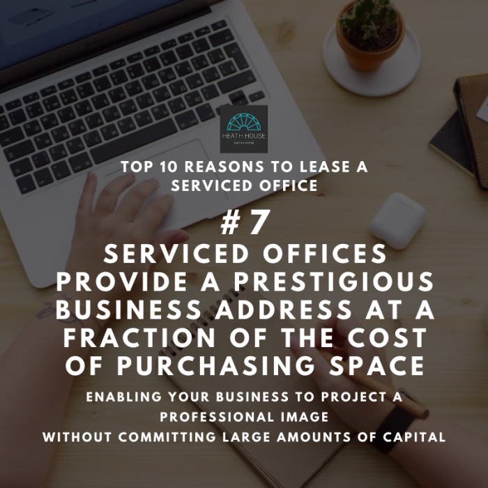 10 reasons to rent a serviced office - reason 7