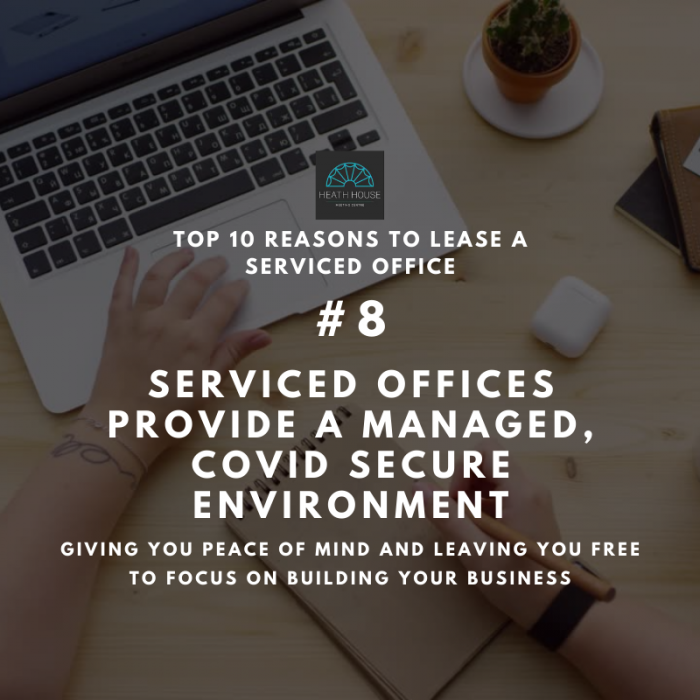 10 reasons to rent a serviced office - reason 8