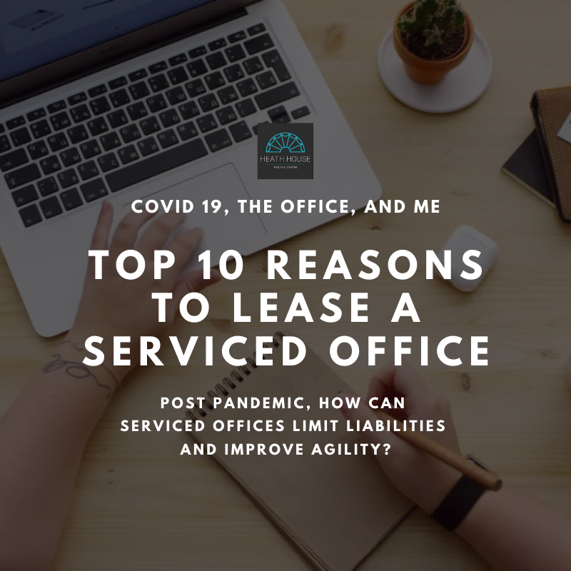 top 10 reasons to lease a serviced office