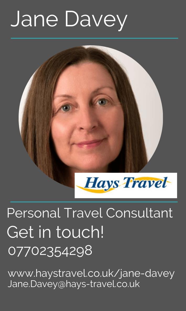 Jane Davey Travel Consultant
