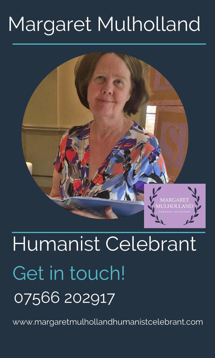 Margaret Mulholland Humanist Celebrant